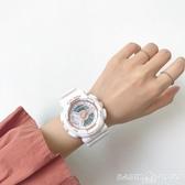手錶手錶女學生ins風 韓版簡約情侶款一對獨角獸少女生抖音防水電子錶 HOME 新品