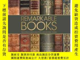 二手書博民逛書店罕見原版Remarkable Books: 世上美麗有歷史意義的