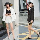 2018新款韓版西服短褲春秋套裝女氣質名媛小西裝外套時尚兩件套潮