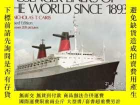 二手書博民逛書店Passenger罕見rs Of The World since 1893-1893年以來的世界客輪Y4434