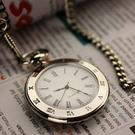 懷錶 時尚復古學生考試夜光阿拉伯字掛表羅馬字男老人女表石英懷表手表【快速出貨八折鉅惠】