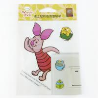 【收藏天地】迪士尼系列*裝飾貼紙-小熊維尼
