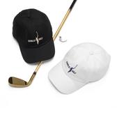 高爾夫帽品牌男士運動帽休閒情侶鴨舌帽防曬遮陽跑步帽子查理高爾夫棒球帽