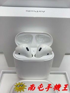 =南屯手機王=【展示品】Apple 蘋果原廠 AirPods 無線藍芽耳機 宅配免運費