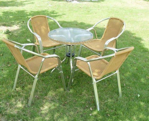 休閑桌椅5件套