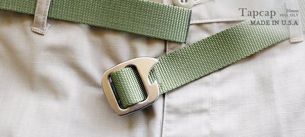 丹大戶外用品【BISON DESIGNS 】TAPCAP開瓶器扣腰帶 橄欖綠 655OLV