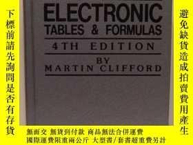 二手書博民逛書店Master罕見handbook of electronic tables & formulas-電子表格和公式總