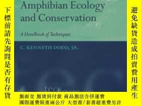 二手書博民逛書店Amphibian罕見Ecology And Conservat