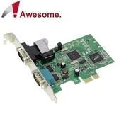 Awesome PCIe 2埠RS-422/485 I/O卡 AWD-8352ER2-485