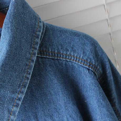 DE SHOP~學生休閒寬鬆蝙蝠袖不規則牛仔外套   (N-0622)