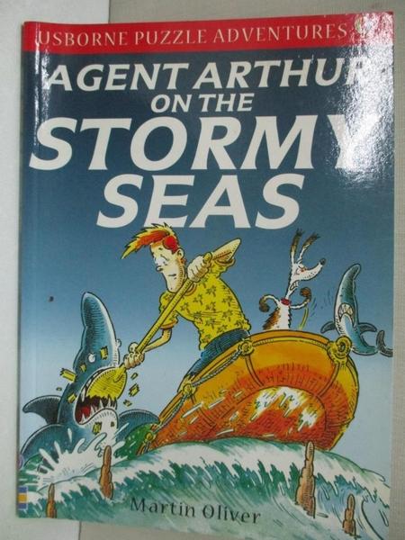 【書寶二手書T3/兒童文學_GFU】Agent Arthur on the Stormy Seas