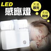 小夜燈 感應燈 LED燈 自動感應 省電燈 節能燈 光控感應 壁燈 走廊燈 床頭燈 玄關燈