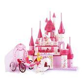 女孩別墅積木拼裝城市系列益智玩具公主城堡6-8-10-12歲WY【快速出貨八折優惠】