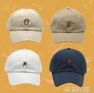 休閒帽休閒日本軟頂刺繡字母棒球帽子男女夏天遮陽鴨舌帽青少年 夢想生活家