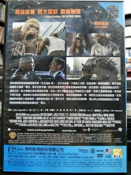 挖寶二手片-P65-028-正版DVD-電影【毀滅大作戰】-巨石強森 娜歐蜜哈瑞絲(直購價)