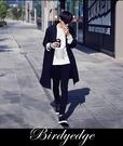 韓國 全素面 黑褲 上班褲 窄版 合身 黑褲 男 女