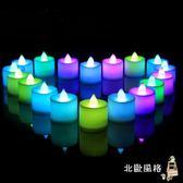 電子蠟燭燈生日錶白浪漫求愛創意蠟燭婚房求婚布置求婚道具LED全館滿千88折