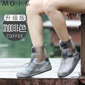 防水鞋套 防水雨天防滑加厚耐磨可愛雨鞋套
