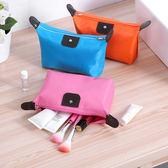 韓國簡約隨身便攜小號大容量化妝包口紅收納包方包迷妳可愛洗漱袋    祕密盒子