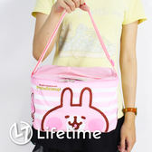 〖LifeTime〗﹝卡娜赫拉方型肩背保溫便當袋﹞正版手提餐袋 便當袋 手提包 保溫袋 兔兔 P助 B19099