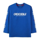 『小鱷魚童裝』LOGO印花T恤(08號~18號)534412