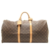 LOUIS VUITTON LV 路易威登 原花手提旅行袋60公分 Keepall 60 M41422 【BRAND OFF】