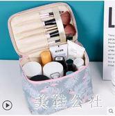 化妝包簡約隨身便攜少女袋收納盒品可愛手提大容量箱CC2037『美鞋公社』