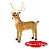美國 Melissa & Doug MD - 大型填充動物 - 長角鹿