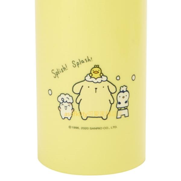 asdfkitty*布丁狗泡泡浴擠壓空罐/空瓶-B款-沐浴乳空罐/洗髮精空罐-日本正版商品