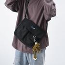 挎包男潮牌日系休閑帆布單肩包街頭時尚運動嘻哈斜挎包ins潮小包
