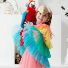 萬聖節兒童cosplay演出服女童披風衣服聖誕節動物表演服元旦服裝 檸檬衣捨