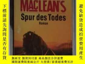 二手書博民逛書店德語原版罕見Alistair MacLean s Spur d
