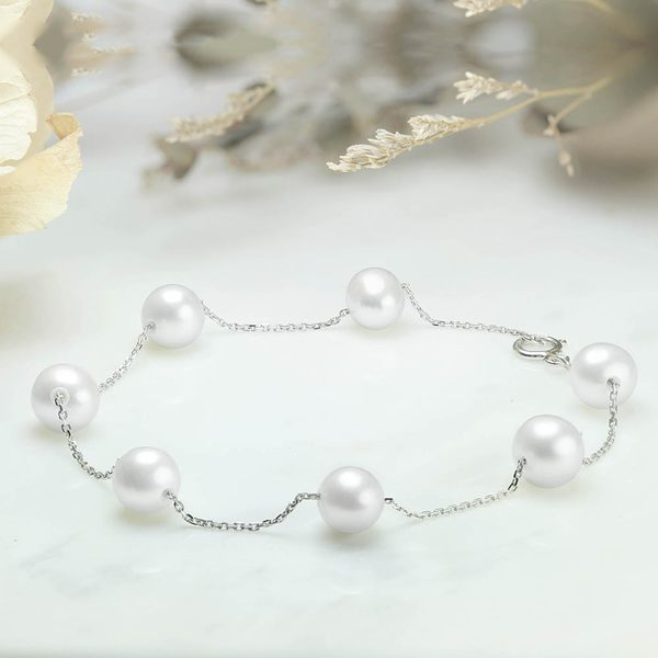 氣質白珍珠手鍊