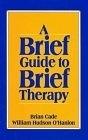 二手書博民逛書店《Brief Guide to Brief Therapy》 R