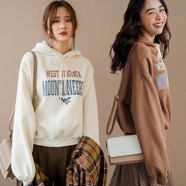 MIUSTAR WEST內刷毛抽繩連帽厚磅棉質上衣(共3色)【NH3246】預購