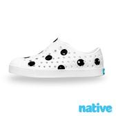 native 大童鞋 JEFFERSON 小奶油頭鞋-波卡黑點