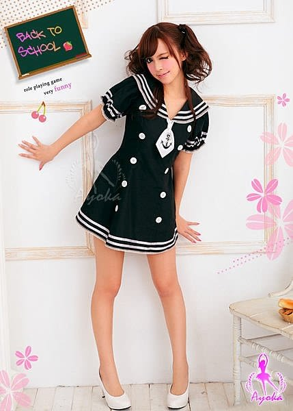 【愛愛雲端】性感內衣 性感睡衣 情趣青春無敵 連身 學生服 角色扮演服 NA11030018