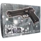台灣製 空氣BB槍 AD-211 空氣槍 M92(黑色)/一支入(促680) 加重型 手拉空氣槍 玩具槍-佳