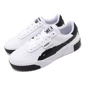 Puma 休閒鞋 Cali Brushed Wns 黑 白 女鞋 運動鞋 皮革鞋面 【ACS】 37389601