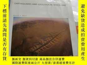二手書博民逛書店earthquakes罕見and geological disc