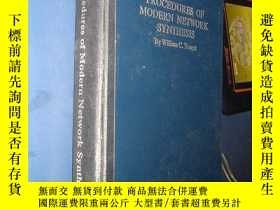 二手書博民逛書店PROCEDURES罕見OF MODERN NETWORK SY