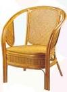 【南洋風休閒傢俱】藤椅系列 – U型椅 編藤椅 乘涼椅 復古泡茶椅 (761-13)