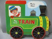 【書寶二手書T5/兒童文學_OGU】My First Train_Marion Billet