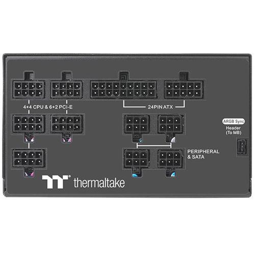 Thermaltake 曜越 Toughpower PF1 ARGB 850W 80PLUS 白金 全模組 電源供應器 PS-TPD-0850F3FAPx-1