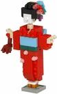 《 Nano Block 迷你積木 》NBC_358 和服女子 / JOYBUS玩具百貨