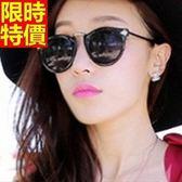 太陽眼鏡-偏光明星同款箭頭圓框男女墨鏡-2色67f29【巴黎精品】