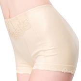 思薇爾-輕機能棉質64-76高腰四角束褲(榛果膚)