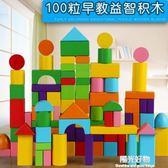 兒童積木兒童益智積木玩具1-2-3-6周歲嬰幼兒寶寶男女孩7-10拼裝節日禮物 igo一週年慶 全館免運特惠