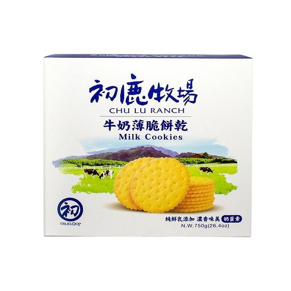 初鹿鮮乳薄餅禮盒(3入裝)【初鹿牧場】奶蛋素 =台東名產=