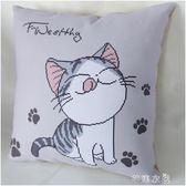 新款十字繡線繡刺繡抱枕簡約現代客廳卡通可愛貓汽車5D簡單繡 芊惠衣屋